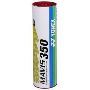 Mavis 350 badmintonové míčky červená Balení: tuba 6 ks