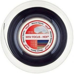 Focus HEX tenisový výplet 200 m černá Průměr: 1,10