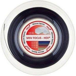 Focus HEX tenisový výplet 200 m černá Průměr: 1,23