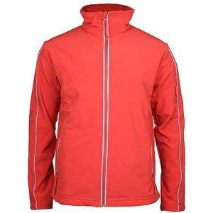 Jacket pánská softshellová bunda červená Velikost oblečení: M