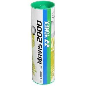 Mavis 2000 badmintonové míčky zelená Balení: tuba 6 ks