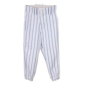 YBP/BP 2115 baseballové kalhoty dětské bílá-modrá Velikost oblečení: XS