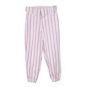 YBP/BP 2115 baseballové kalhoty dětské bílá-červená Velikost oblečení: XS