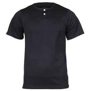 YBJ baseballový dres dětský černá Velikost oblečení: L