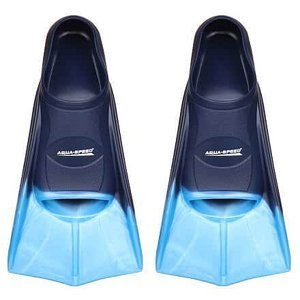 Training ploutve modrá Velikost (obuv): EU 43-44