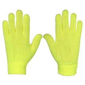 Rukavice pletené žlutá Velikost oblečení: L-XL