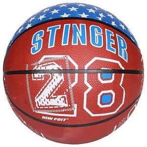 Print basketbalový míč hnědá Velikost míče: č. 7
