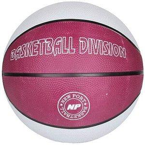 Print basketbalový míč bílá Velikost míče: č. 7