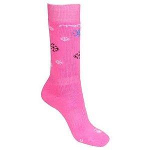 Baby Ski podkolenky růžová Velikost (obuv): EU 33-35