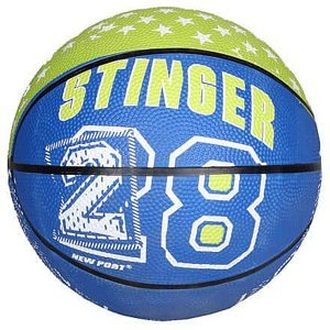 Print Mini basketbalový míč zelená Velikost míče: č. 3