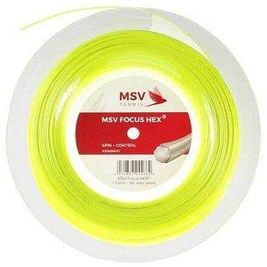 Focus HEX tenisový výplet 200 m žlutá neon Průměr: 1,23