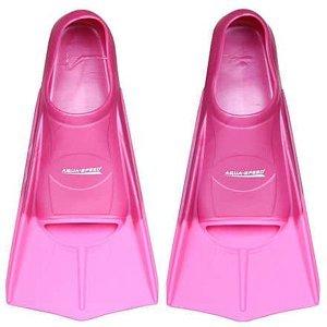 Training ploutve růžová Velikost (obuv): EU 33-34