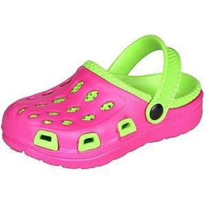 Silvi dětské pantofle růžová-zelená Velikost (obuv): 29