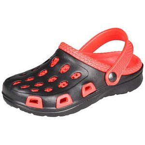 Silvi dětské pantofle červená-černá Velikost (obuv): 31