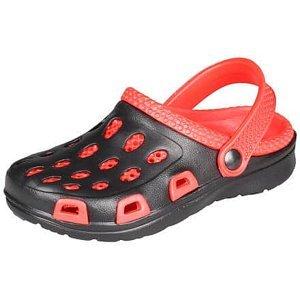 Silvi dětské pantofle červená-černá Velikost (obuv): 32