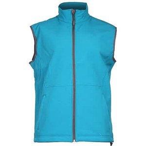 Vision pánská softshellová vesta tyrkysová Velikost oblečení: XL
