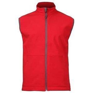 Vision pánská softshellová vesta červená Velikost oblečení: XL