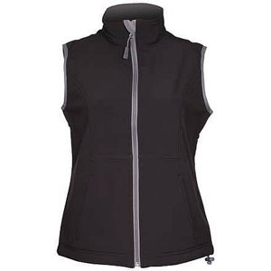 Vision dámská softshellová vesta černá Velikost oblečení: M
