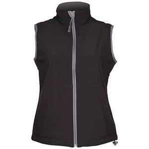 Vision dámská softshellová vesta černá Velikost oblečení: L