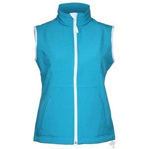 Vision dámská softshellová vesta tyrkysová Velikost oblečení: L