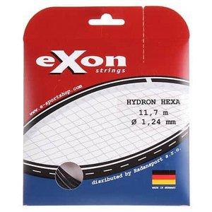 Hydron Hexa tenisový výplet 11,7 m černá Průměr: 1,24