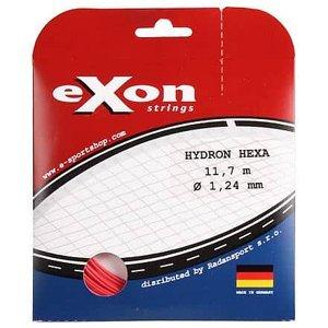 Hydron Hexa tenisový výplet 11,7 m červená Průměr: 1,24