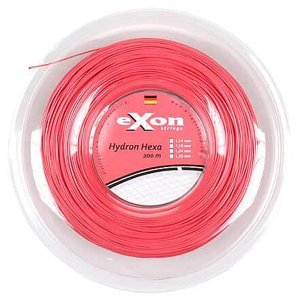 Hydron Hexa tenisový výplet 200 m červená Průměr: 1,19