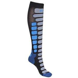 Skiing 2.0 lyžařské ponožky černá-modrá Velikost (obuv): EU 42-44