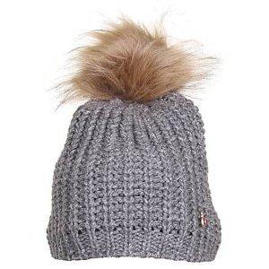 COB dětská zimní čepice šedá