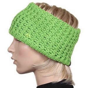 Solid Band dámská čelenka zelená