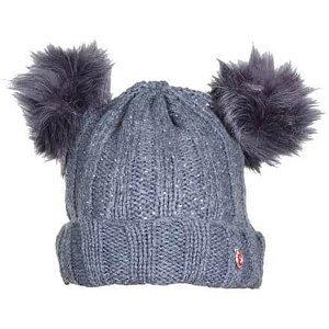 Pet Beanie dětská zimní čepice šedá