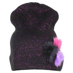 Twinkle dětská zimní čepice černá