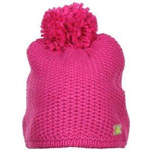 Solid Beanie dámská zimní čepice růžová