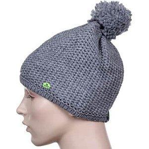 Solid Beanie dámská zimní čepice šedá