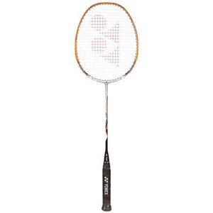 Nanoray 20 badmintonová raketa stříbrná-oranžová