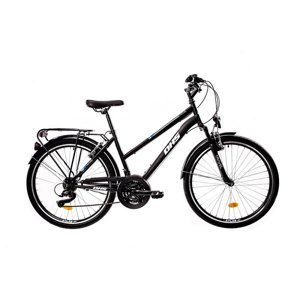 "Mestský bicykel DHS 2654 26"" - model 2021 Farba Black"