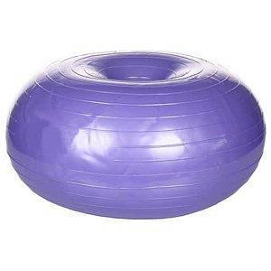 Donut Yoga Ball gymnastický míč fialová