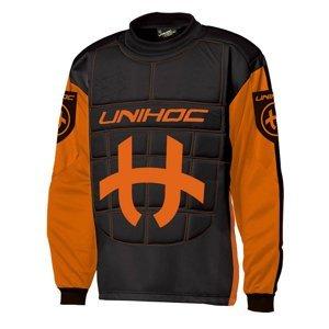 Florbal dres brankářský UNIHOC - S - Oranžová