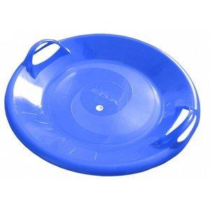 Sáňkovací talíř disk SUPER STAR- červená - Modrá