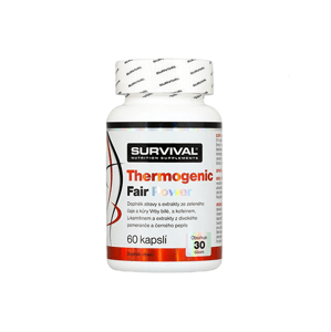 Survival Thermogenic Fair Power 60 cps