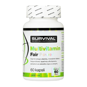 Survival Multivitamin Fair Power 60 cps