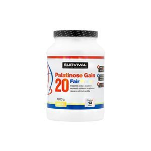 Survival Palatinose Gain 20 Fair Power 1200 g vanilka