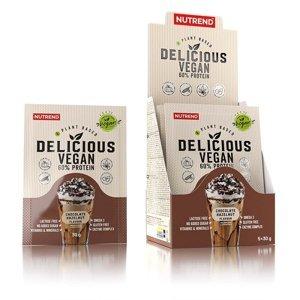 Nutrend Delicious Vegan 60% Protein 5x30 g chocolate-hazelnut