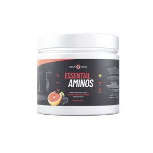 Czech Virus Essential Aminos 360 g červený pomeranč a lesní plody