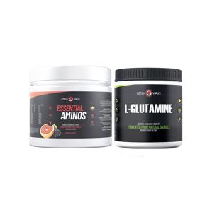AKCE Czech Virus Essential Aminos 360 g red orange berries + L-Glutamine 250 g