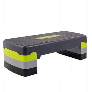 Step aerobic fitness Springos FA0202 šedá-zelená