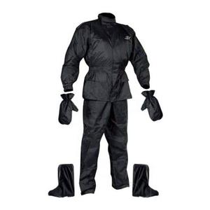 Moto pláštenka NOX Set Rainpack Farba čierna, Veľkosť M