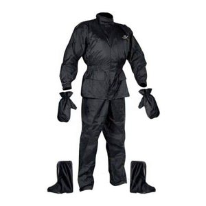 Moto pláštenka NOX Set Rainpack Farba čierna, Veľkosť 2XL