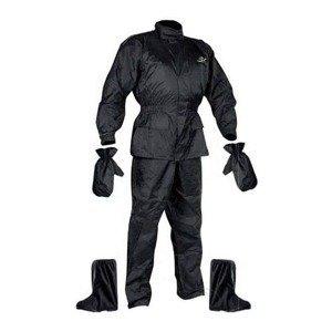 Moto pláštenka NOX Set Rainpack Farba čierna, Veľkosť XS
