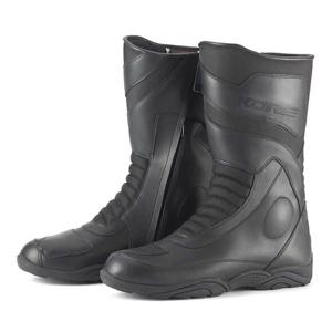 Moto topánky KORE Touring Mid Farba čierna, Veľkosť 48